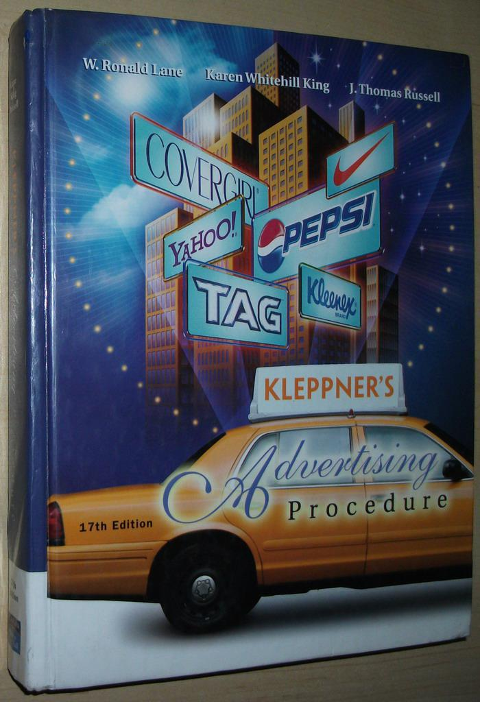 ◇英文原版书 Kleppner's Advertising Procedure (17th Edition)
