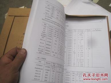 科学出版社图片补充0132 的手稿和资料大约 1.1米高度 页码没有数