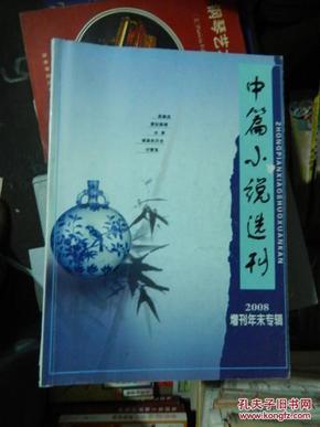 中篇小说选刊 2008增刊年末专辑