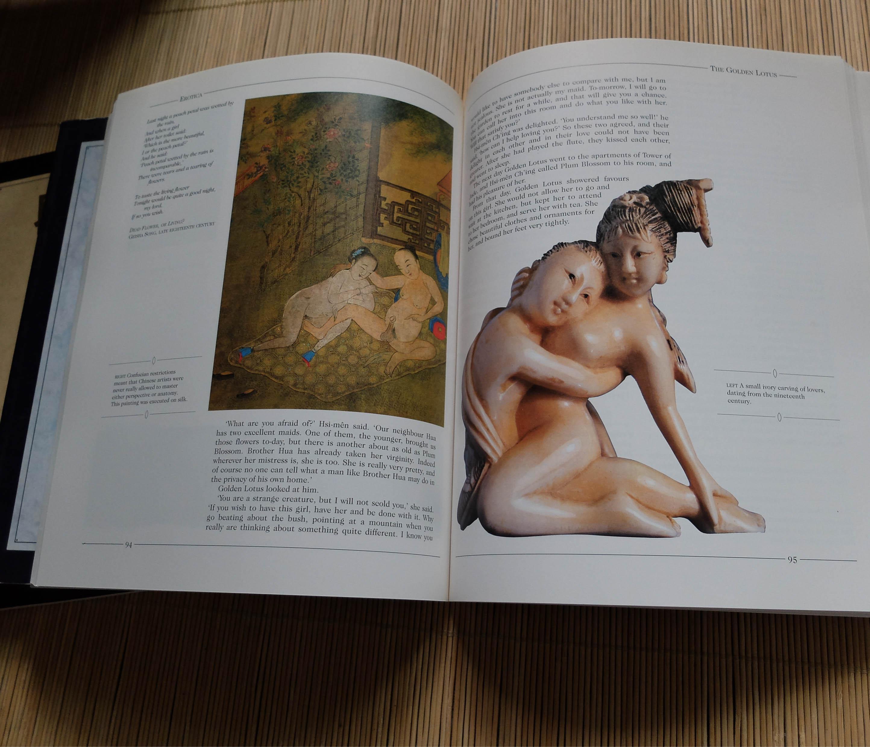 搜性情色文学小�_绝版【 eroticaⅠⅡⅢ 情色艺术与文学插图选 三卷合售】涵盖油画