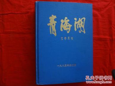 青海湖 文学月刊(1985年合订本)