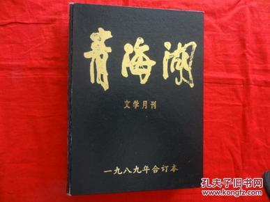 青海湖 文学月刊 1989年合订本