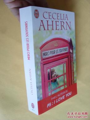 法文原版      Cecilia Ahern,     Merci pour les souvenirs