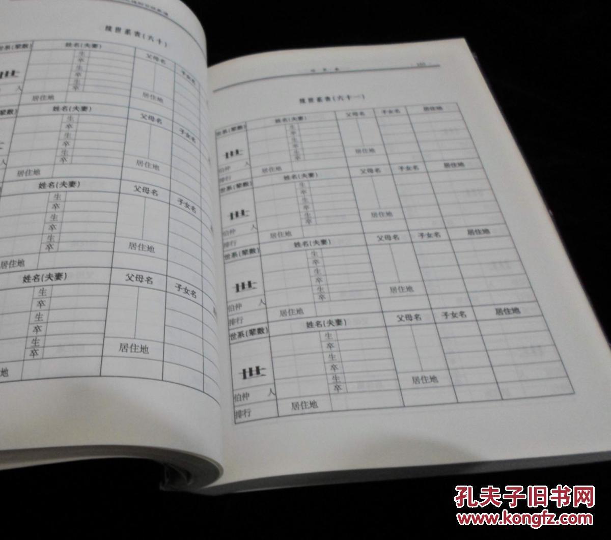 尹氏家谱(洪洞大槐树百姓家谱)图片