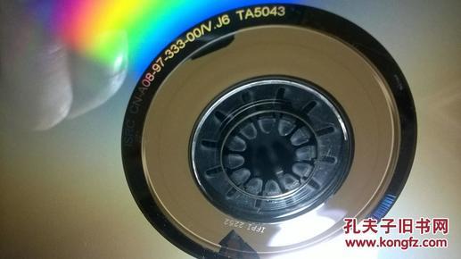 金碟豹原装vcd光盘电子琴演奏涛声依旧渴望烛光里的图片
