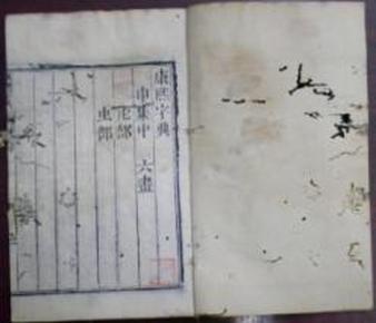 《康熙字典》申集中/ 六画(虍部、虫部)