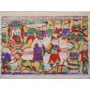 八十年代印制老木版年画版画(8)--------越来越少的民间艺术,渐行渐远的民风民俗!!!