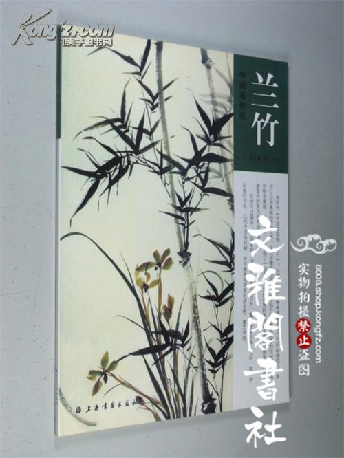 仁左 写意国画水墨兰花竹子的画法步骤 画集 福建美术出版社