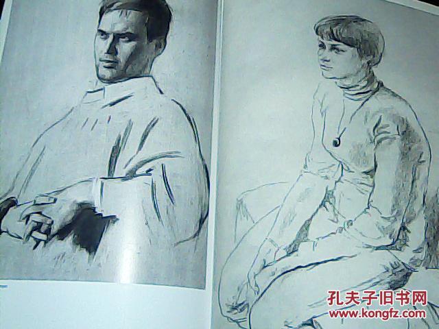 【图】俄罗斯列宾美术学院绘画基础教学图片