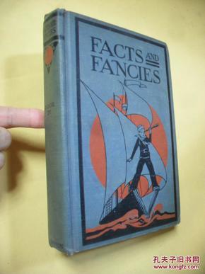 英文原版     facts and fancies    by  Lewis, William Dodge & Rowland, Albert Lindsay 民国旧书 多彩图