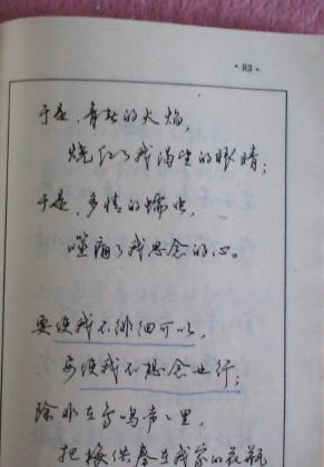 钢笔行书横写字帖图片