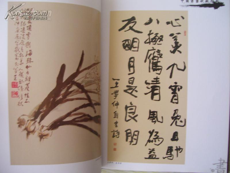 精装16开 厚册 《中国书画收藏指南 当代书画十大名家》范曾 韩美林图片