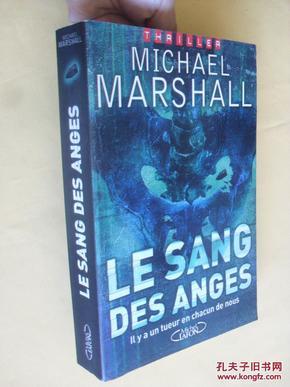 法文原版      Le Sang des anges (French) Paperback