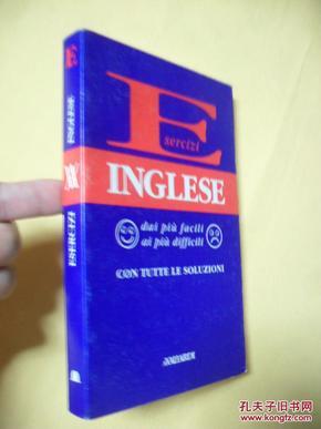 意大利文原版     Esercizi Inglese