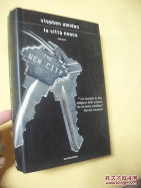 意大利文原版    精装   la Città nuova stephen amidon(the new city)