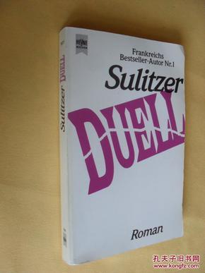 德文原版     Duell.  by     Paul-Loup Sulitzer