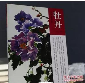 牡丹 中国画教程/王宣明/写意国画花卉的画法技法