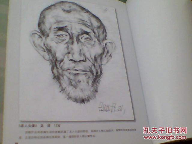 名师教画素描植物 动物 人物篇图片
