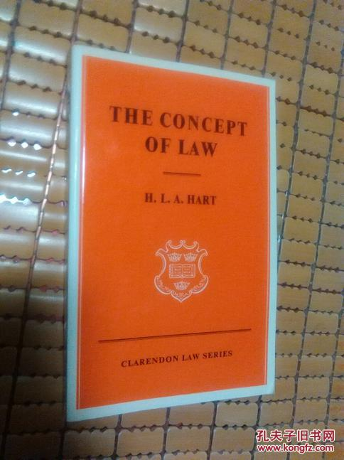 The Concept of Law 法律的概念the  third edition【二十世纪最重要的法理学著作,英文原版,第三版】