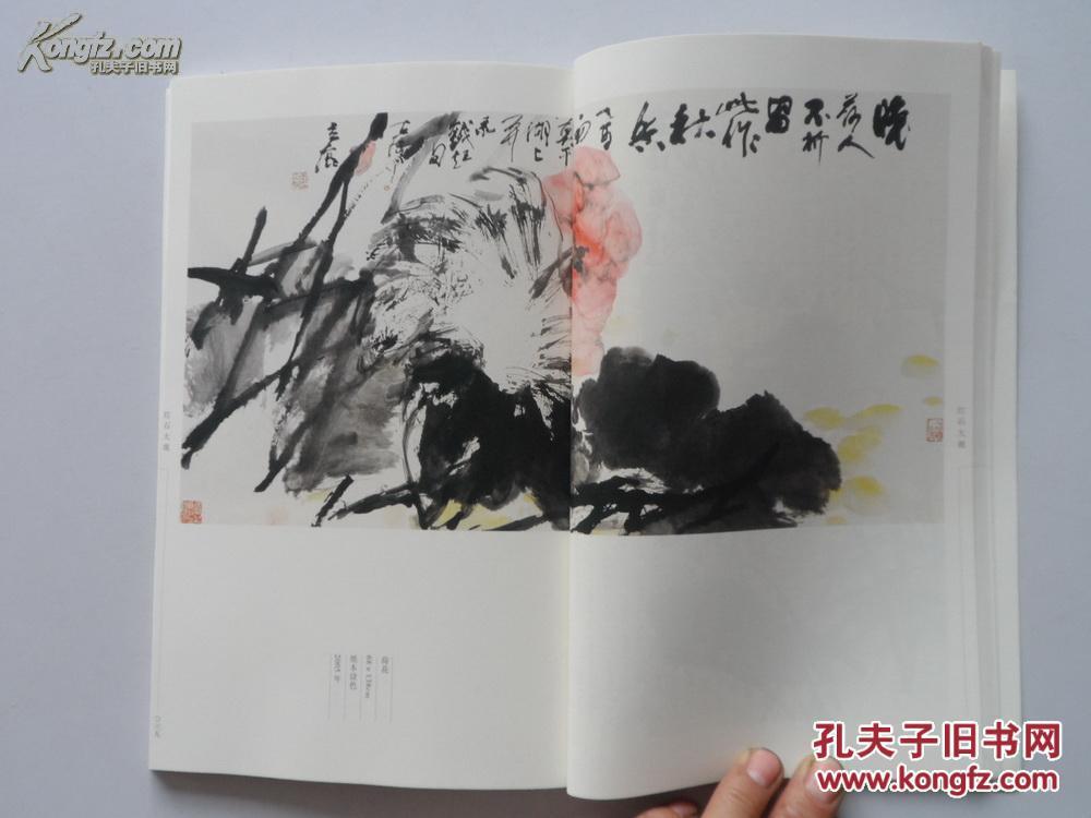 16开画册《红石大观——迎新春书画联展作品集》范扬图片
