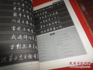 启功诗词钢笔行书字帖. 第一辑,第二辑(两本和售)图片
