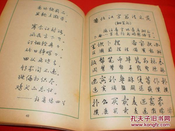 找关于钢笔字书法的书,想学一下各种风格的钢笔字~~不知道有没有这图片