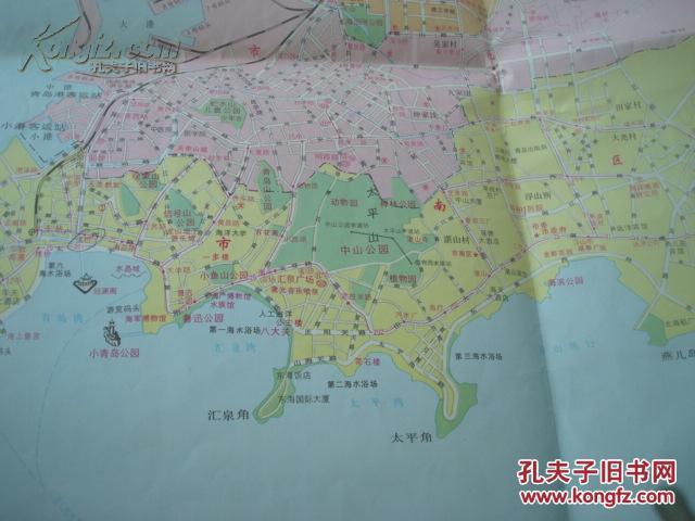 青岛经济开发区图 山东省交通图 中山路商业街放大图 青岛公交站线,路图片