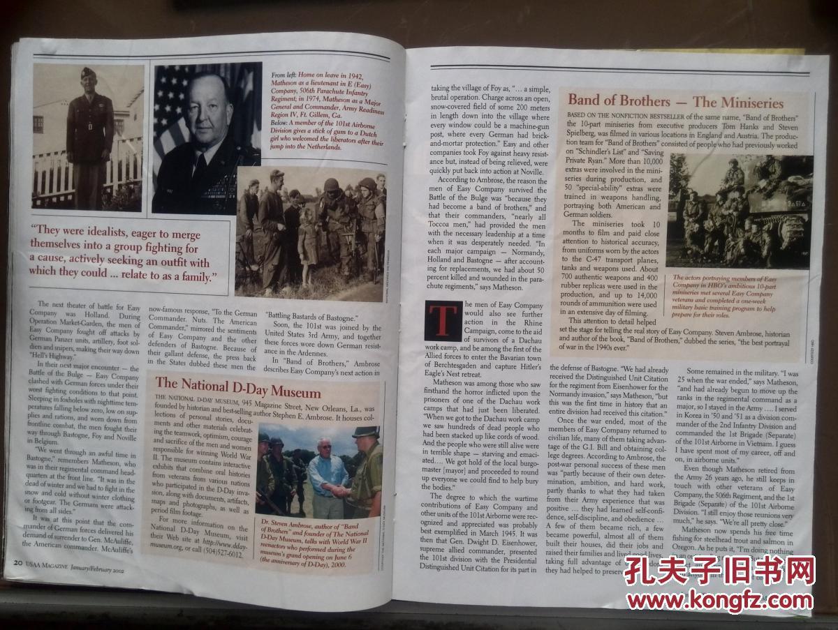 usaa magazine(英文)美国陆军杂志,(美国原版知名杂志图片