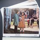 741    派拉蒙公司1970年电影《爱情故事》彩色剧照印刷画片十张