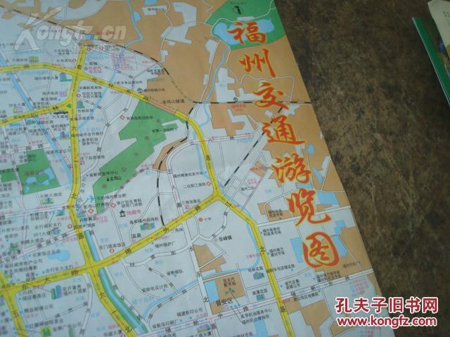 福州市动物园地图