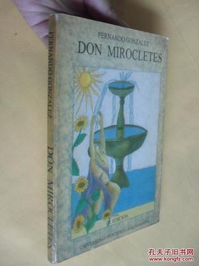 西班牙文原版      DON MIROCLETES  FERNANDO GONZALEZ