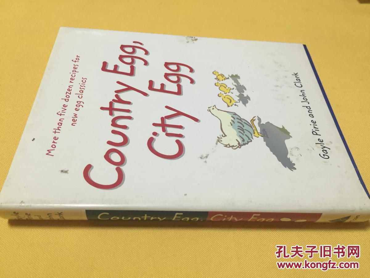 英文原版     Country Egg, City Egg