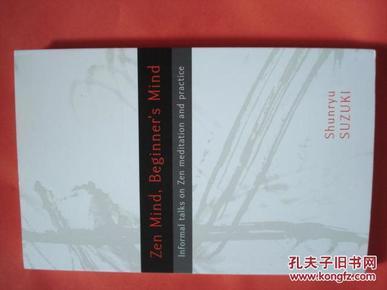 Zen Mind, Beginners Mind,  Shunryu Suzuki  Shambhala2011Richard Baker 禅道基本要领打坐呼吸精神历史哲学例证