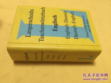 德文原版       Taschenworterbuch Englisch