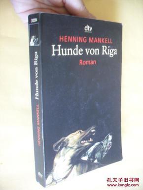 德文原版     Hunde Von Riga.Henning Mankell