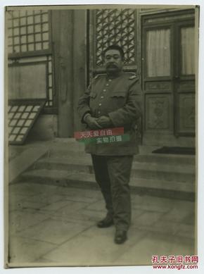 民国中国东北热河省主席--军阀汤玉麟老照片