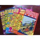 第1套国内引进的英国原版中小学教材:基础语法【5书5张CD】原函套.正版