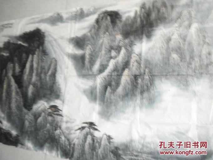 安徽当代著名山水画家分享展示图片