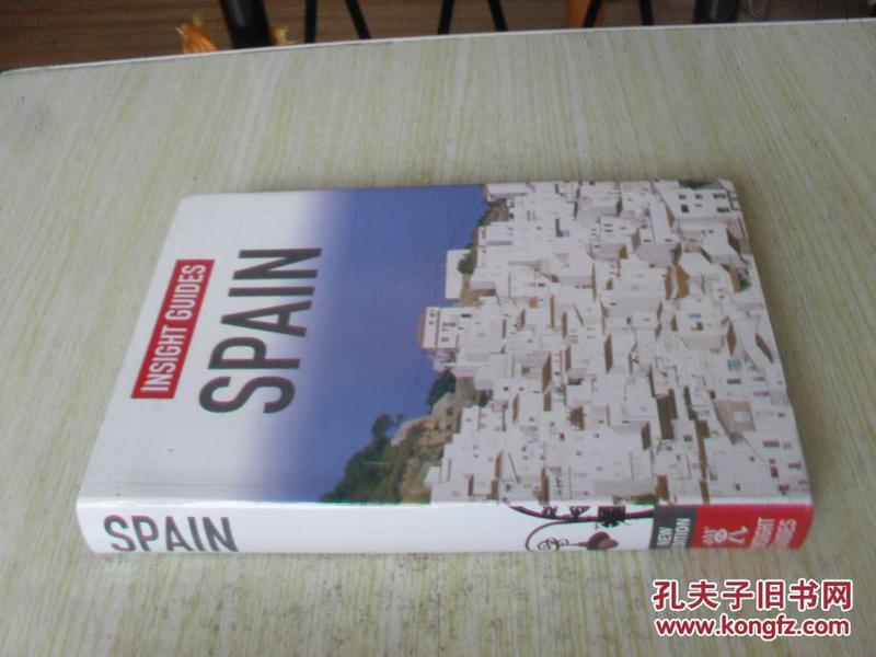 英文原版  Spain  . Insight Guides