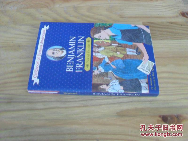 英文原版  Benjamin Franklin: Young Printer (Childhood of Famous Americans)