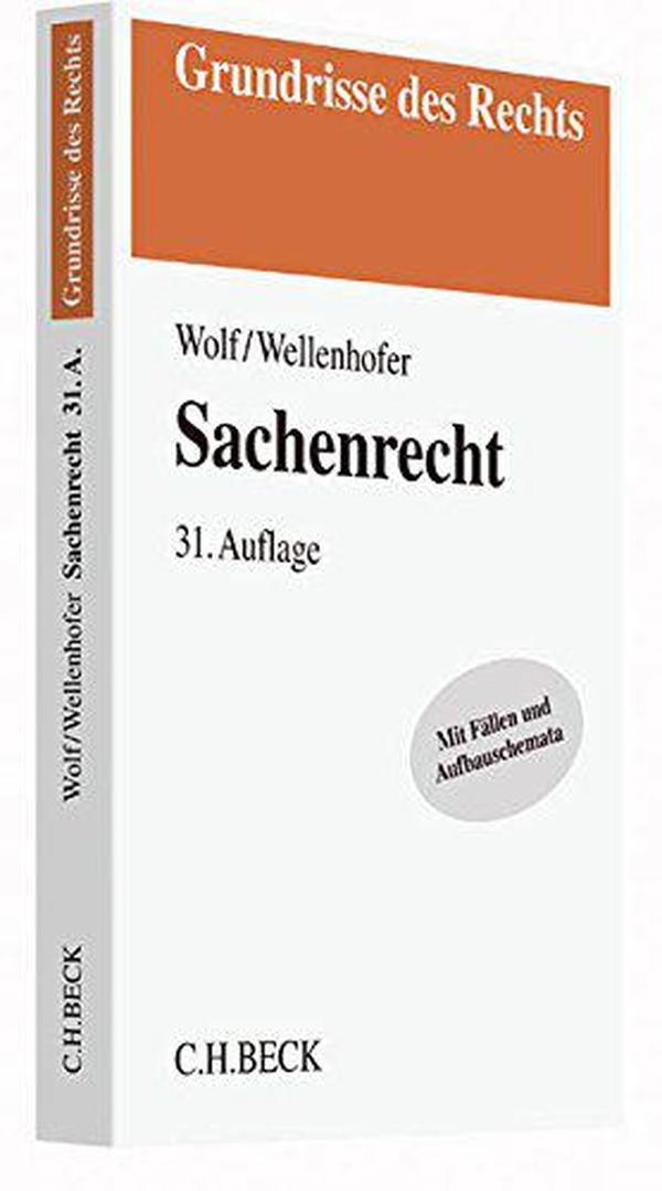 德文原版 德语 Sachenrecht 德国物权法 课本 教材 教科书 2016年第31版