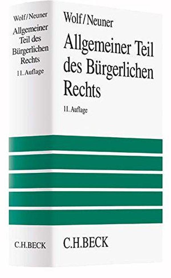 德文原版 德语 Allgemeiner Teil des Bürgerlichen Rechts 德国民法总论 Larenz