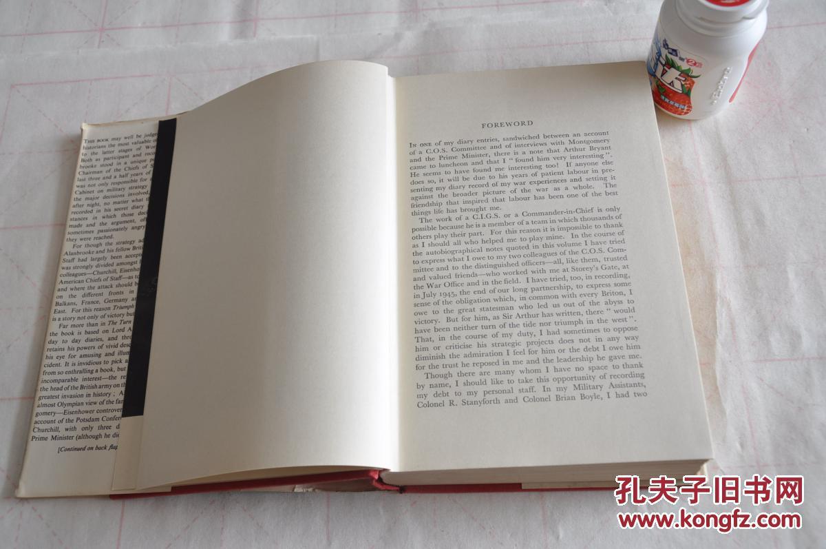 1959年,孔网唯一,英文原版,西部的胜利,triumph in the west