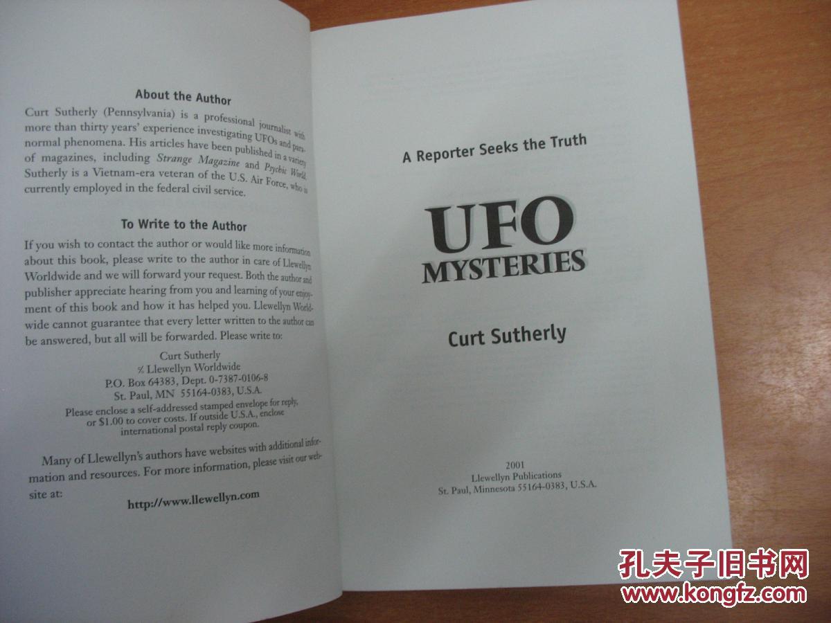 【图】英文动态书:UFOMysteries:AReporter祝你新年a动态表情原版图片