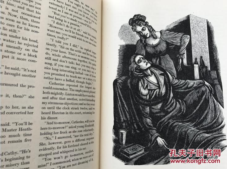 wuthering heights 艾米莉 勃朗特《呼啸山庄》,著名的fritz eichen图片