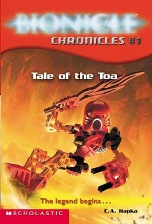 乐高生化战士  Tale of the Toa (Bionicle Chronicles, #1) 英文原版