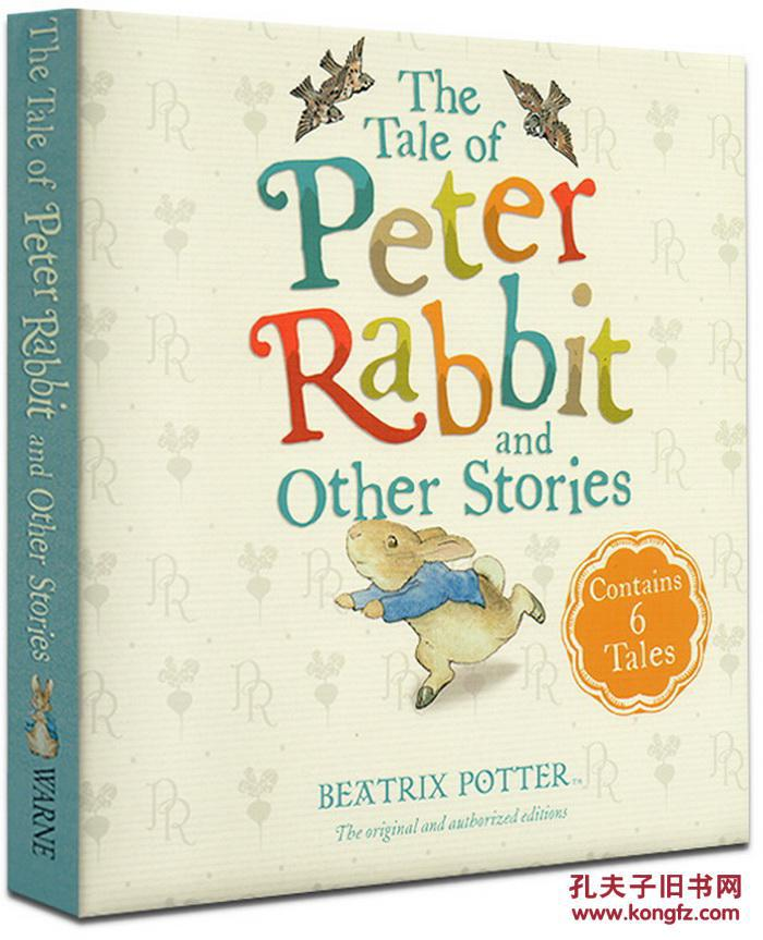 彼得兔6个故事合集The Tale of Peter Rabbit and Other Stories