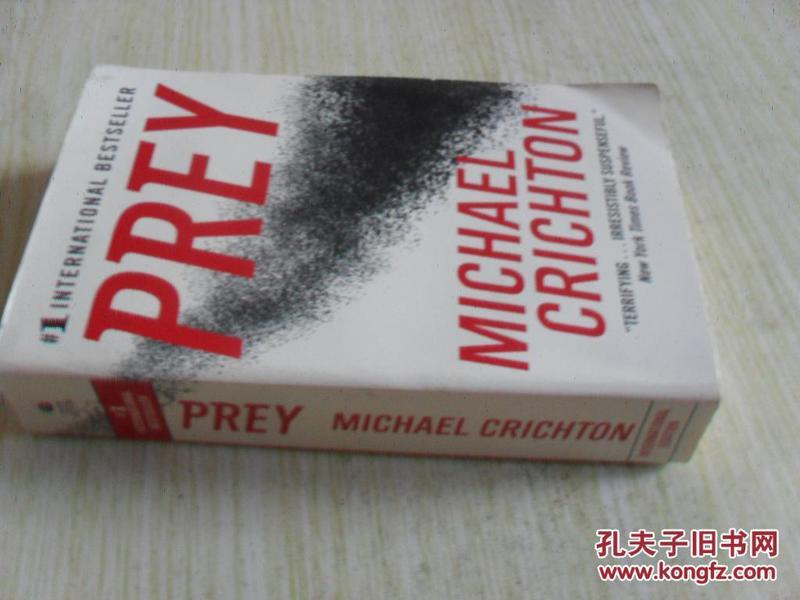 英文原版 Prey by Michael Crichton