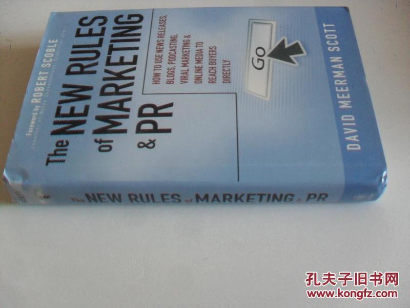 英文原版      The New Rules of Marketing and PR