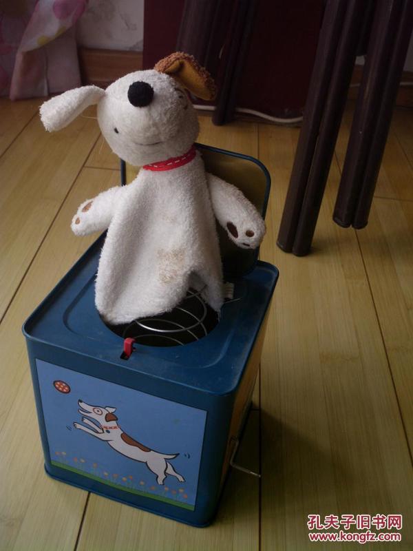 铁盒弹簧音乐跳狗